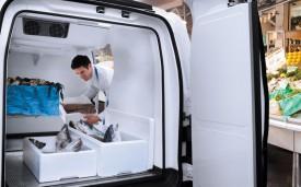 Nissan NV200 frigo interieur