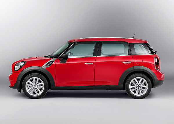 mini countryman profil
