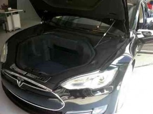COFFRE TESLA MODEL S